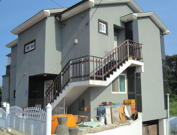 국내주거환경디자인 일반주택 - 입면 2