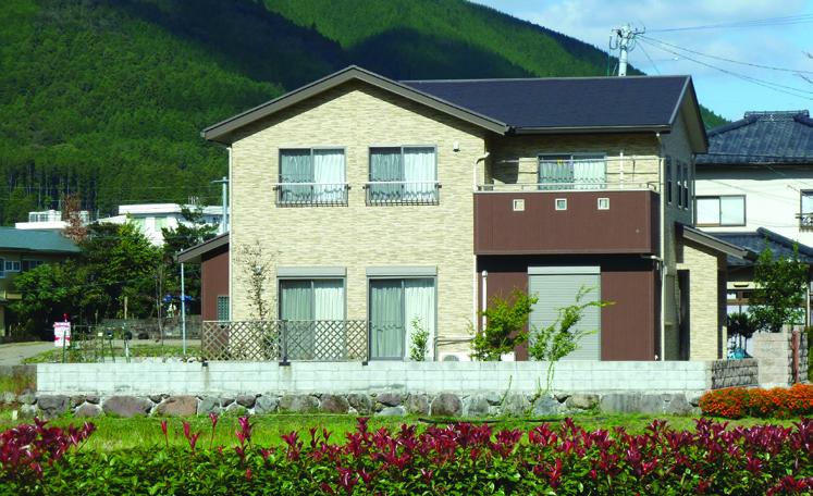 해외주거환경디자인 일반주택 - 입면 1